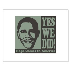 Yes We Did! Posters