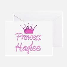 Princess Haylee Greeting Card