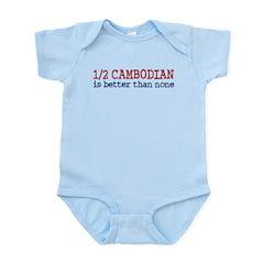 Half Cambodian Infant Bodysuit
