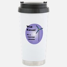Wind-Wind Situation Stainless Steel Travel Mug