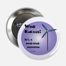"""Wind-Wind Situation 2.25"""" Button"""