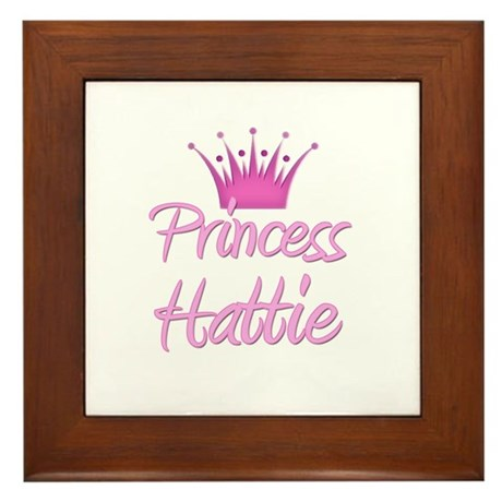 Princess Hattie Framed Tile