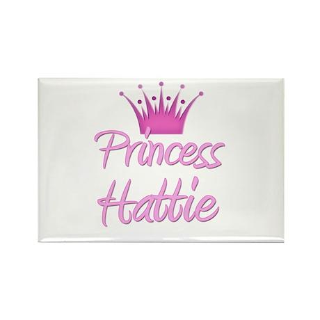 Princess Hattie Rectangle Magnet