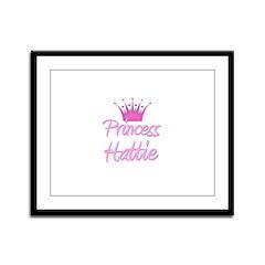 Princess Hattie Framed Panel Print