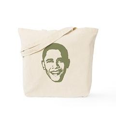 Barack Obama Picture Tote Bag