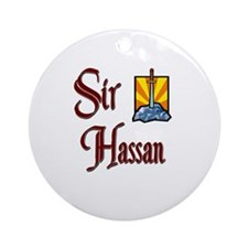 Sir Hassan Ornament (Round)