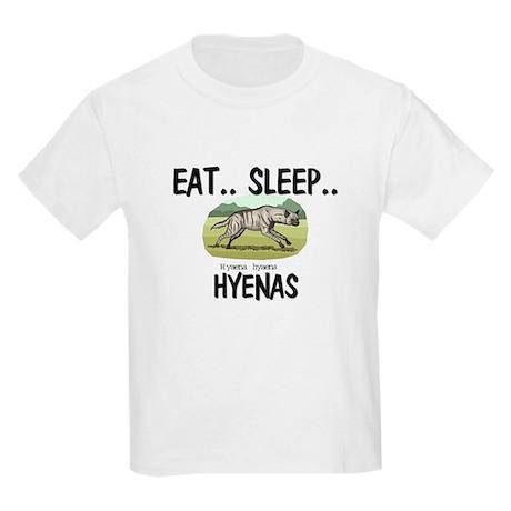 Eat ... Sleep ... HYENAS Kids Light T-Shirt