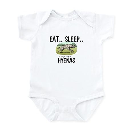 Eat ... Sleep ... HYENAS Infant Bodysuit
