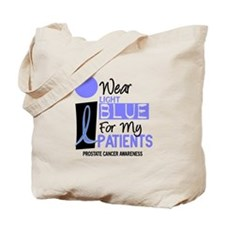 I Wear Light Blue For My Patients 9 Tote Bag
