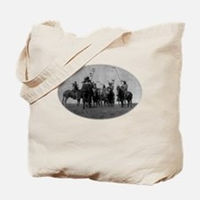Atsina Warriors (Gros Ventre) Tote Bag