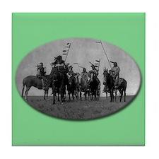 Atsina Warriors (Gros Ventre) Tile Coaster