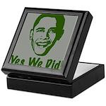 Yes We Did! Keepsake Box