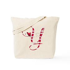 Monogrammed( Y) Tote Bag