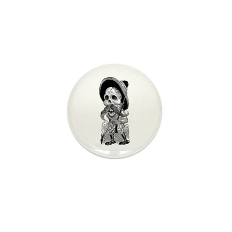 Revolucionario Calavera Mini Button (100 pack)