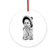 Revolucionario Calavera Ornament (Round)