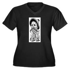 Revolucionario Calavera Women's Plus Size V-Neck D