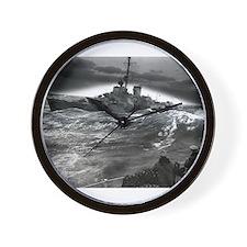 Vintage coast guard Wall Clock