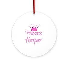 Princess Harper Ornament (Round)