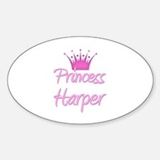 Princess Harper Oval Decal