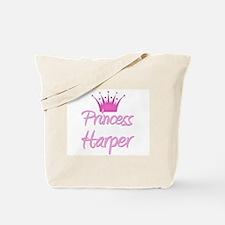 Princess Harper Tote Bag