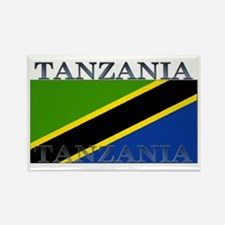 Tanzania Rectangle Magnet (100 pack)