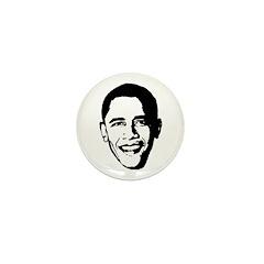 Obama Picture Mini Button (100 pack)