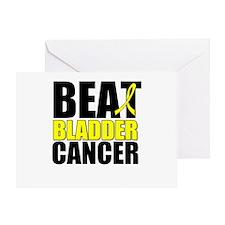 Beat Bladder Cancer Greeting Card