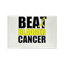 Beat Bladder Cancer Rectangle Magnet