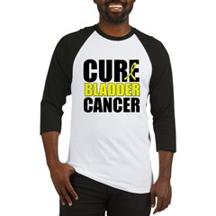 Cure Bladder Cancer Baseball Jersey