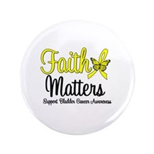 "FaithMatters Bladder Cancer 3.5"" Button"