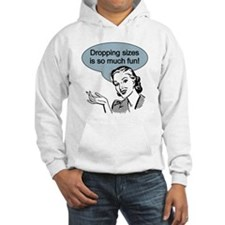 Dropping Sizes Hoodie
