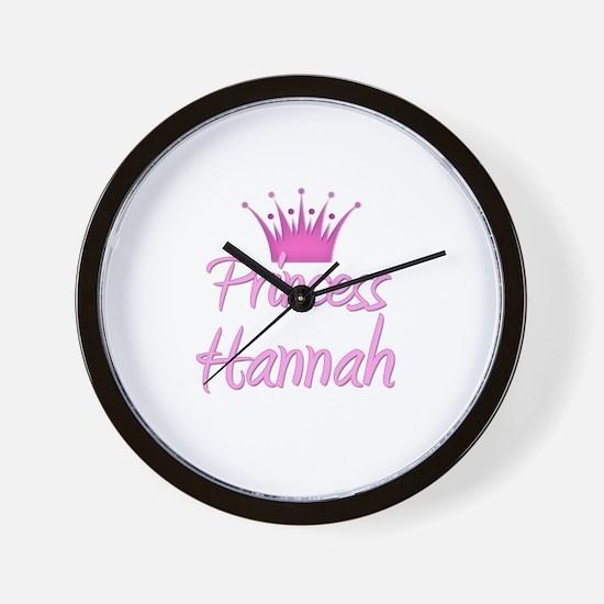 Princess Hannah Wall Clock