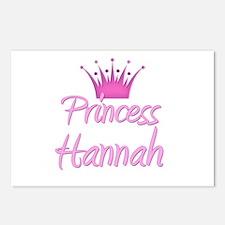 Princess Hannah Postcards (Package of 8)