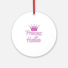 Princess Hallie Ornament (Round)