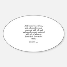 EXODUS 29:2 Oval Decal