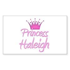 Princess Haleigh Rectangle Decal