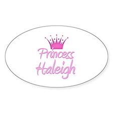 Princess Haleigh Oval Decal