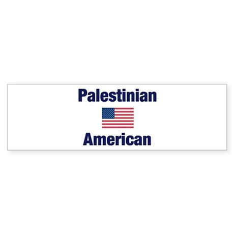 Palestinian American Bumper Sticker