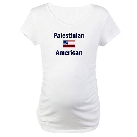 Palestinian American Maternity T-Shirt