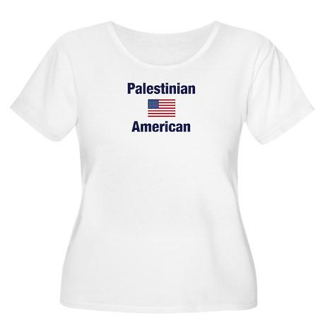 Palestinian American Women's Plus Size Scoop Neck