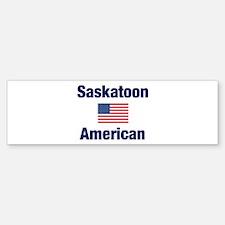 Saskatoon American Bumper Sticker (10 pk)