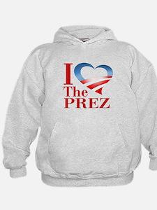 I Heart The Prez Hoodie