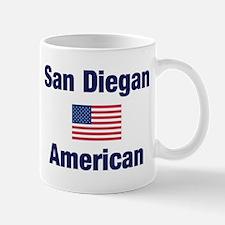 San Diegan American Mug