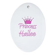 Princess Hailee Oval Ornament