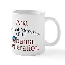 Ana - Obama Generation Mug