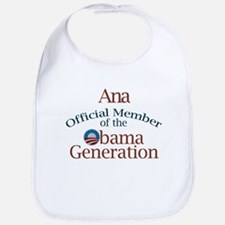 Ana - Obama Generation Bib