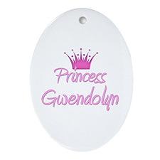 Princess Gwendolyn Oval Ornament