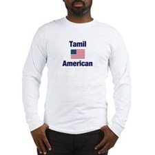 Tamil American Long Sleeve T-Shirt