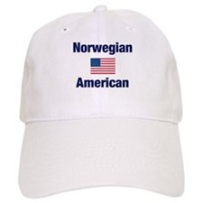 Norwegian American Baseball Cap