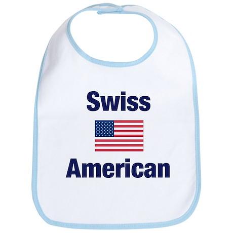 Swiss American Bib